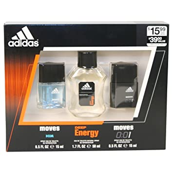 Set Adidas Fragrance Energy De Moves Toilette For HimDeep Toilette Gift Omnieau Eau BoerWdCx