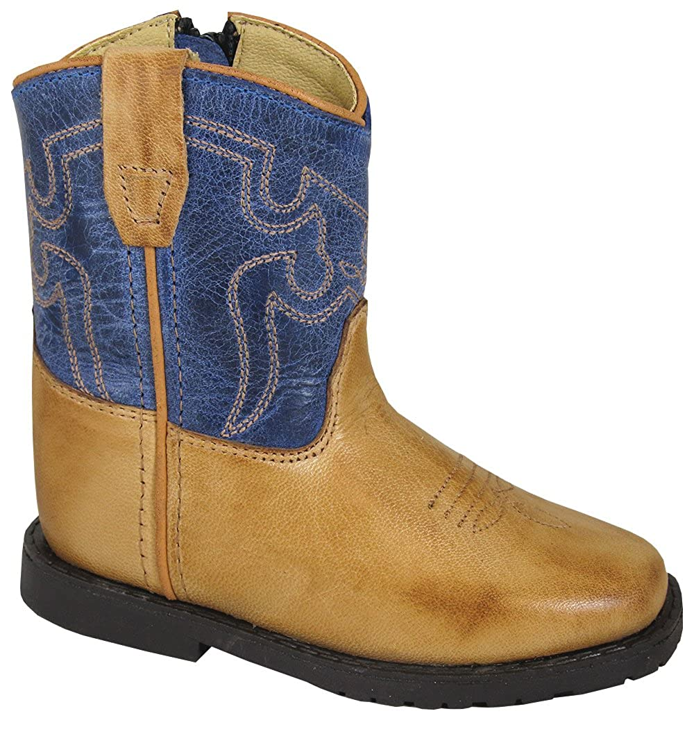 Tan bluee 7 Tan bluee 7 Smoky Mountain Toddler Autry Boots Tan bluee