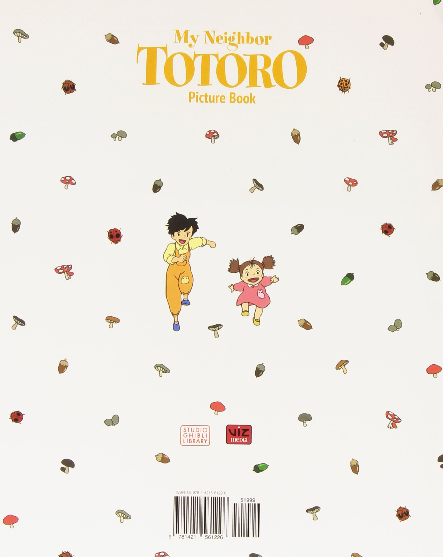 my neighbor totoro picture book new edition hayao miyazaki
