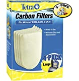 Tetra Whisper EX Carbon Filter Cartridge Large 4 Pieces - 3 PACK