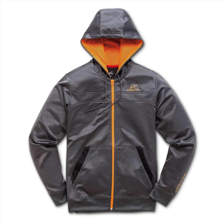 Alpinestars Zip-Hoody Freeride Grau Gr. L