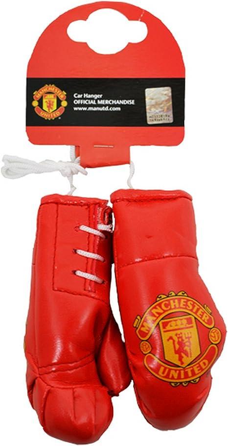 Man Utd Football Teams Mini-Boxhandschuhe mit Manchester United FC Design