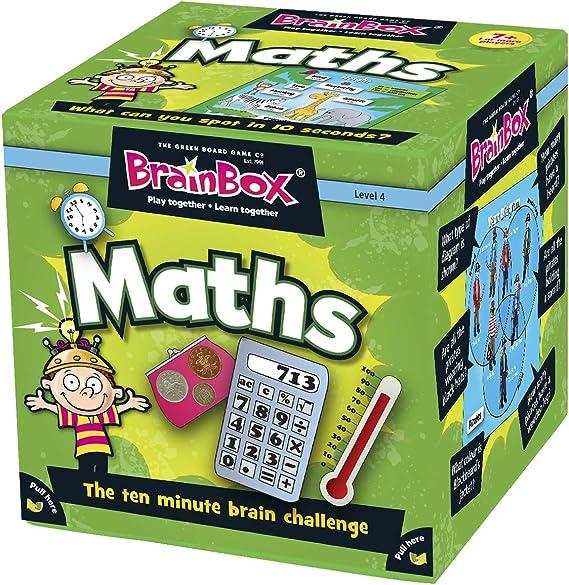 Green Board Games BrainBox Maths - Juego Educativo de matemáticas y de Memoria (Importado de Reino Unido): Amazon.es: Juguetes y juegos