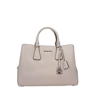 024f97b29418 Michael Kors Ladies Camille Large Leather Satchel Handbag: Amazon.co.uk:  Shoes & Bags