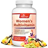 Natrogix Women's Multivitamin 180 CT, Daily Multivitamin for Women - Vitamin A B C D E, Folic Acid, Biotin, Calcium, Magnesium, Zinc, Mineral&Antioxidant, Support Immune&Energy,Anti-Aging, Made in USA