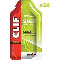 CLIF SHOT - Energy Gel - Citrus - (1.2 Ounce Packet, 24 Count)