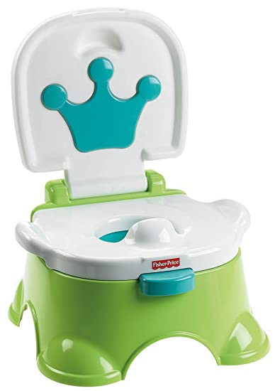Fisher-Price Royal Stepstool Potty Green  sc 1 st  Amazon.com & Amazon.com : Fisher-Price Royal Stepstool Potty Green : Toilet ... islam-shia.org