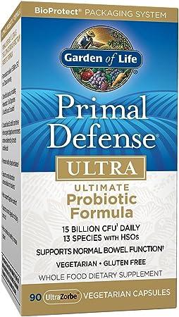 Garden of Life Whole Food Probiotic Supplement
