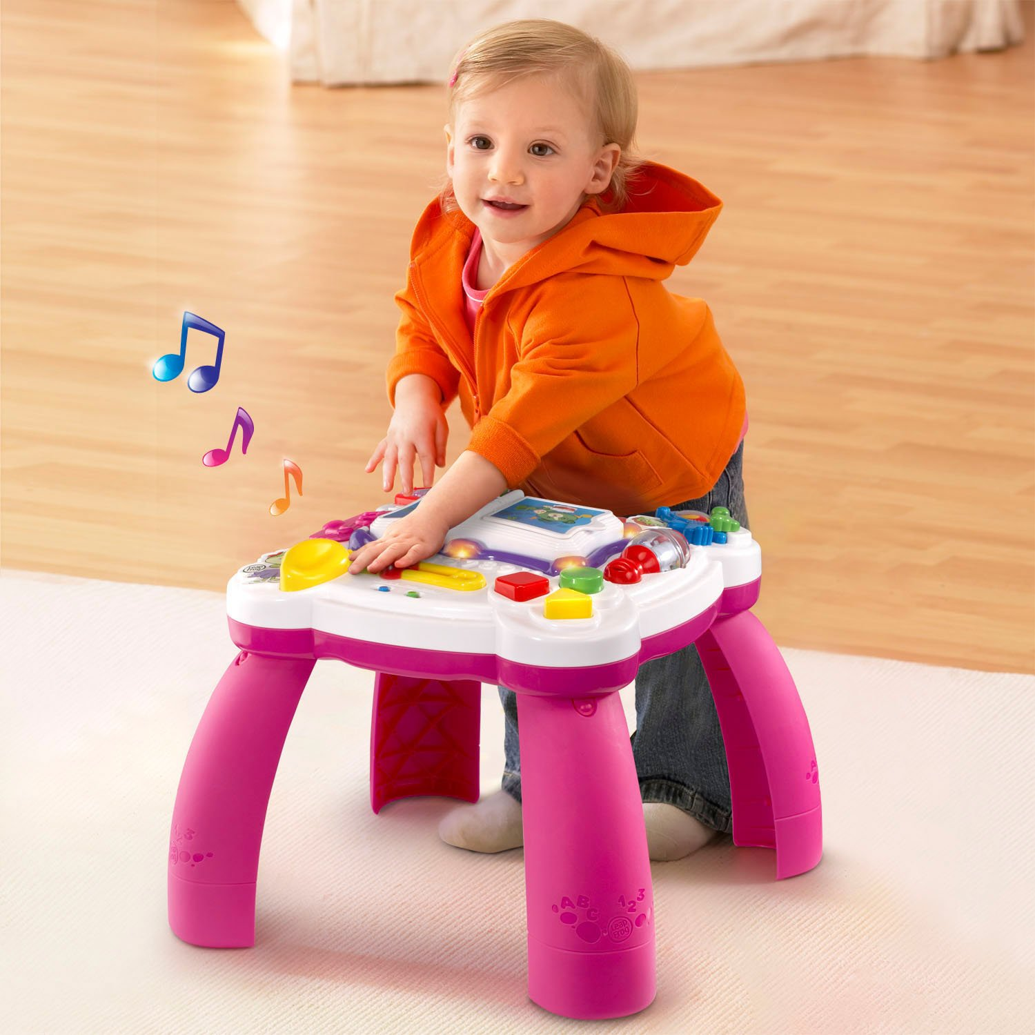 LeapFrog Learn and Groove Musical Table Activity Center Amazon Exclusive, Pink by LeapFrog (Image #6)