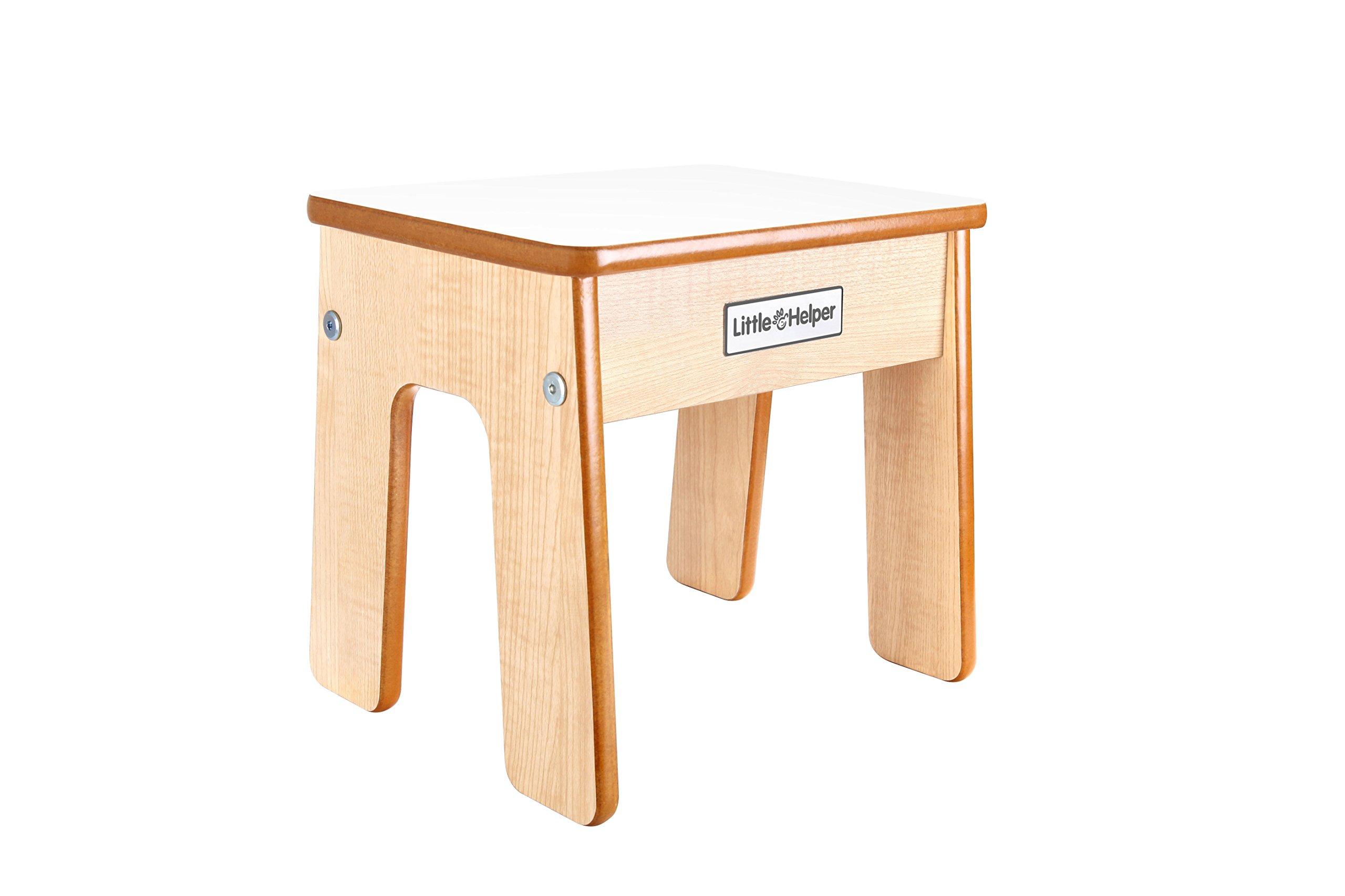 Little Helper FunPod Toddler Kitchen Safety Stand Wooden Worktop