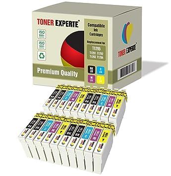 Pack de 20 XL TONER EXPERTE® Compatibles T1295 Cartuchos de Tinta ...