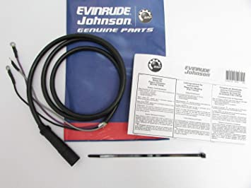 evinrude/johnson/omc new oem instrument tach wiring harness 174732,  0174732: amazon ca: automotive