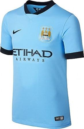 Nike 611056-489-S - Camiseta de equipación de fútbol para niño, Color Azul (Field Blue/Obsidian/Obsidian), Talla S: Amazon.es: Deportes y aire libre