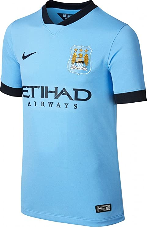 Nike 611056-489-S - Camiseta de equipación de fútbol para niño, Color