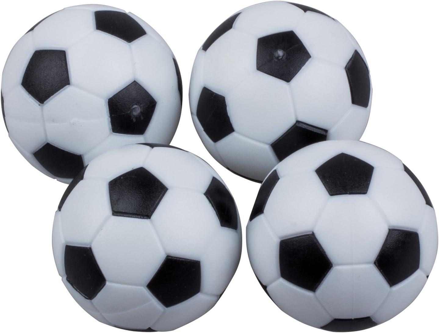 TOOGOO 4pcs de 32mm Mesa de Futbol de plastico Pelota de Foosball ...
