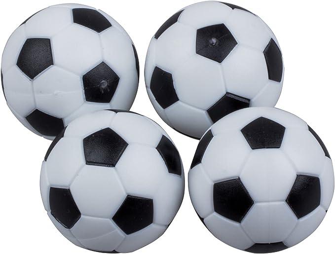 Andifany 4pcs de 32mm Mesa de Futbol de plastico Pelota de Foosball Bola de futbolin: Amazon.es: Juguetes y juegos