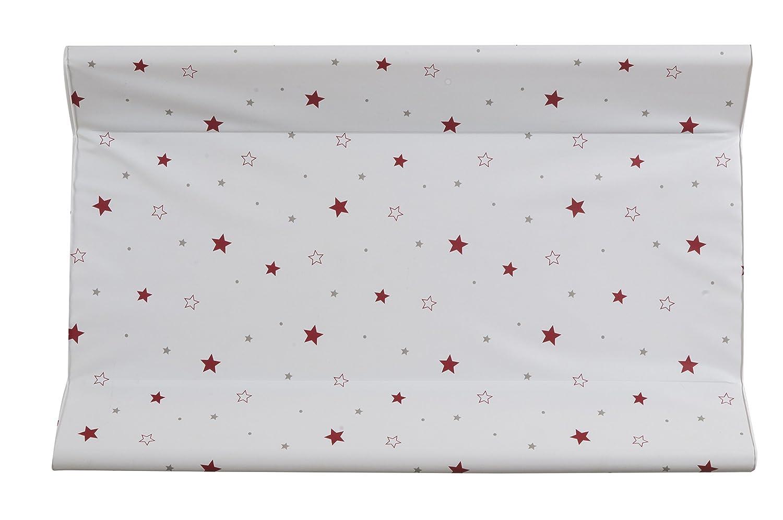 Schardt 13603678Matelas à langer décor petites étoiles Rouge 50x 80cm 13 603 678