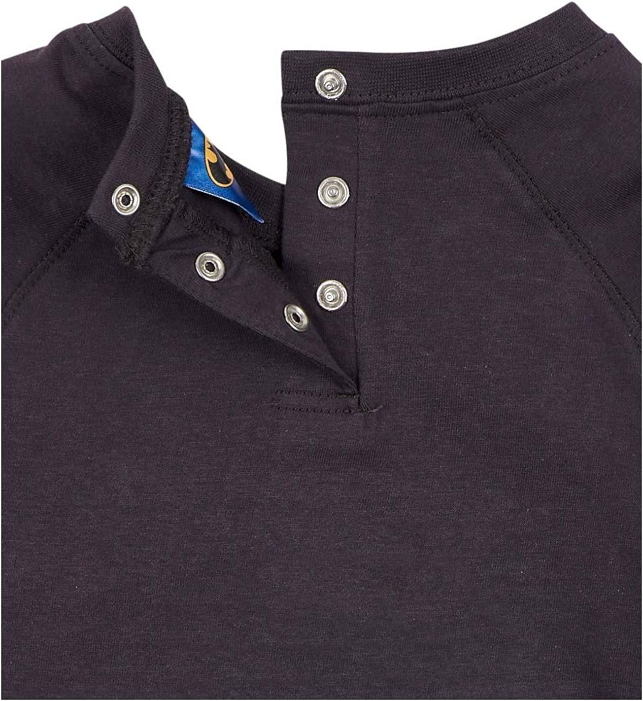 lang/ärmelig Batman- T-Shirt 3 bis 24 Monate Jungen Dunkelgrau f/ür Baby