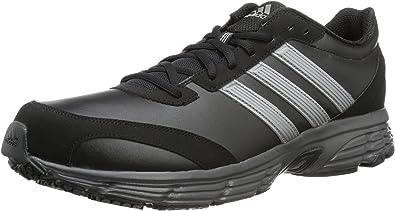 adidas Vanquish 6 Lea m - Zapatillas de Correr de Cuero Hombre, Color Negro, Talla 40 2/3: ADIDAS: Amazon.es: Zapatos y complementos
