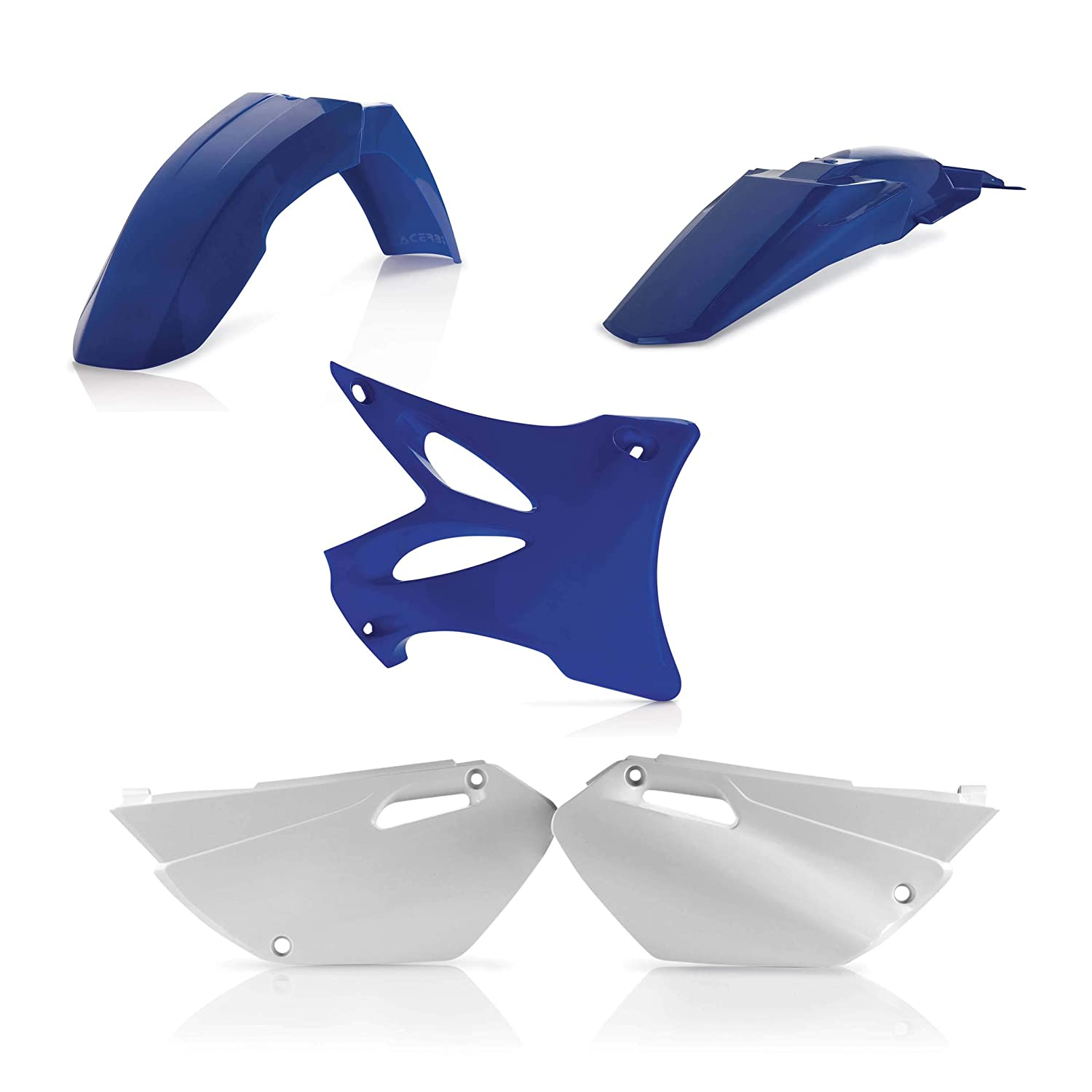02-14 YAMAHA YZ85: Acerbis Plastic Kit (OEM Colors) 0007512.553.002