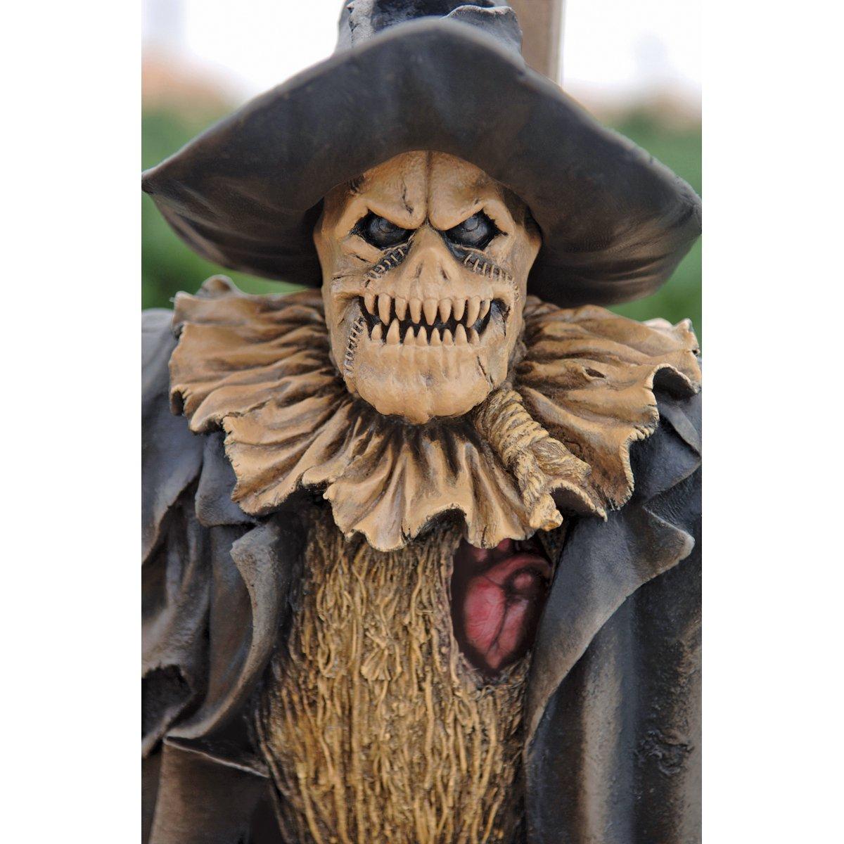 Amazon.com : Harvest of Evil Zombie Scarecrow Garden Statue ...