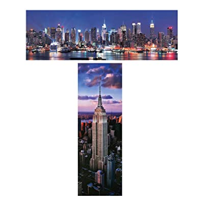 Jigsaw Puzzles Bundle for NYC Fans: Toys & Games