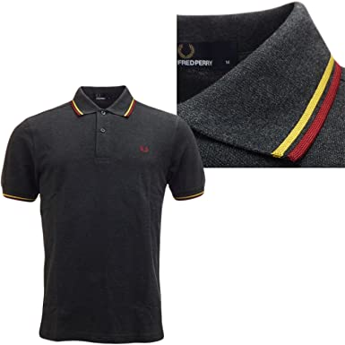 Fred Perry Plain Polo de manga corta piqué Original M1200: Amazon ...