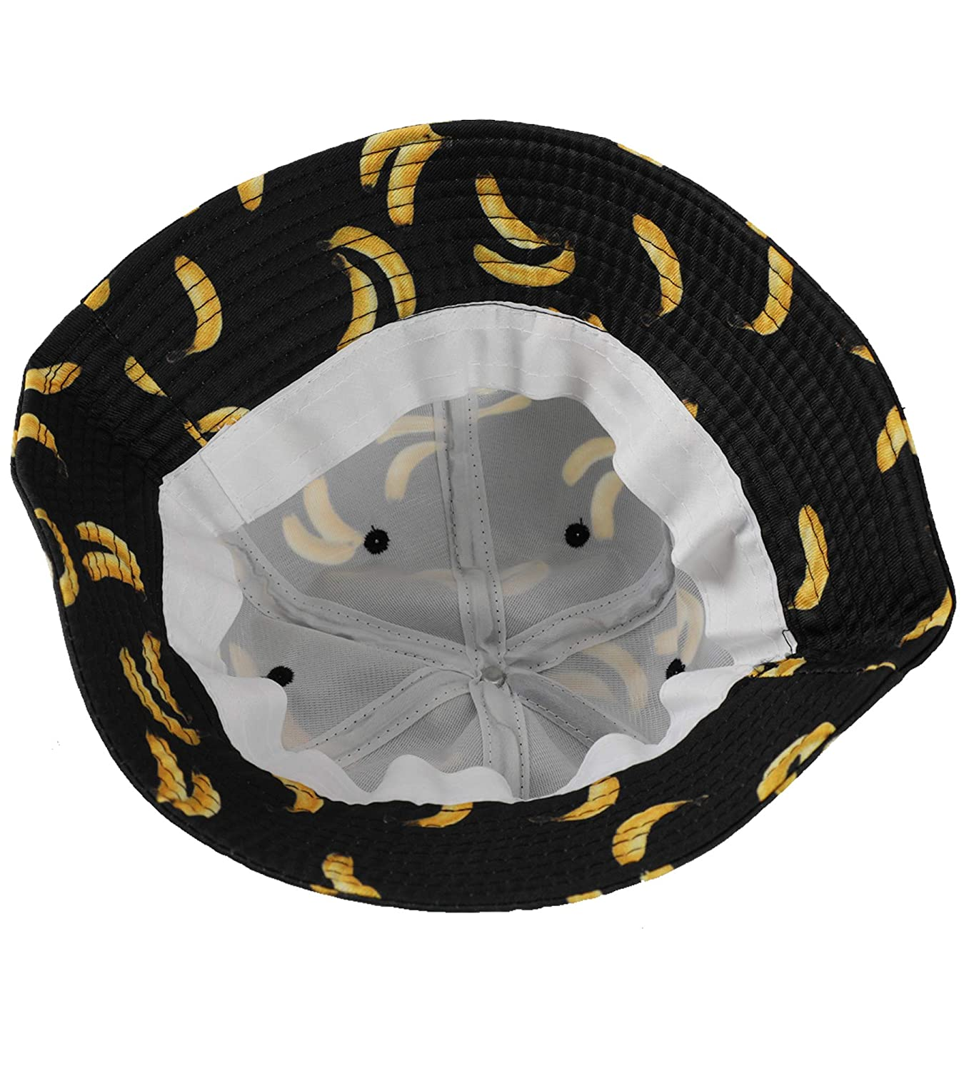 Amazon.com  EUPHIE YING Cotton Headwear Fruit Pattern Fashion Bucket Hat  Fisherman Cap Summer Packable Sun Hat  Clothing 32a27e0d54d0