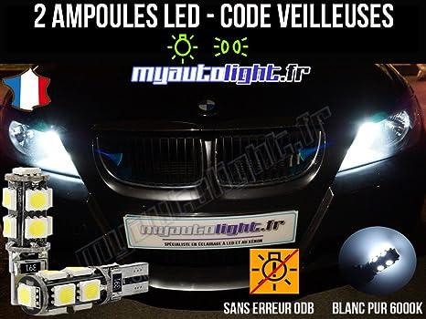 MyAutolight - Pack de lamparillas LED de Xenon para BMW Serie 3E90, color