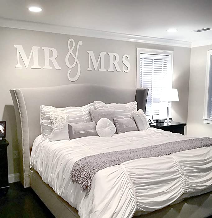 Top 9 Mr And Mrs Sign Wall Decor Bedroom