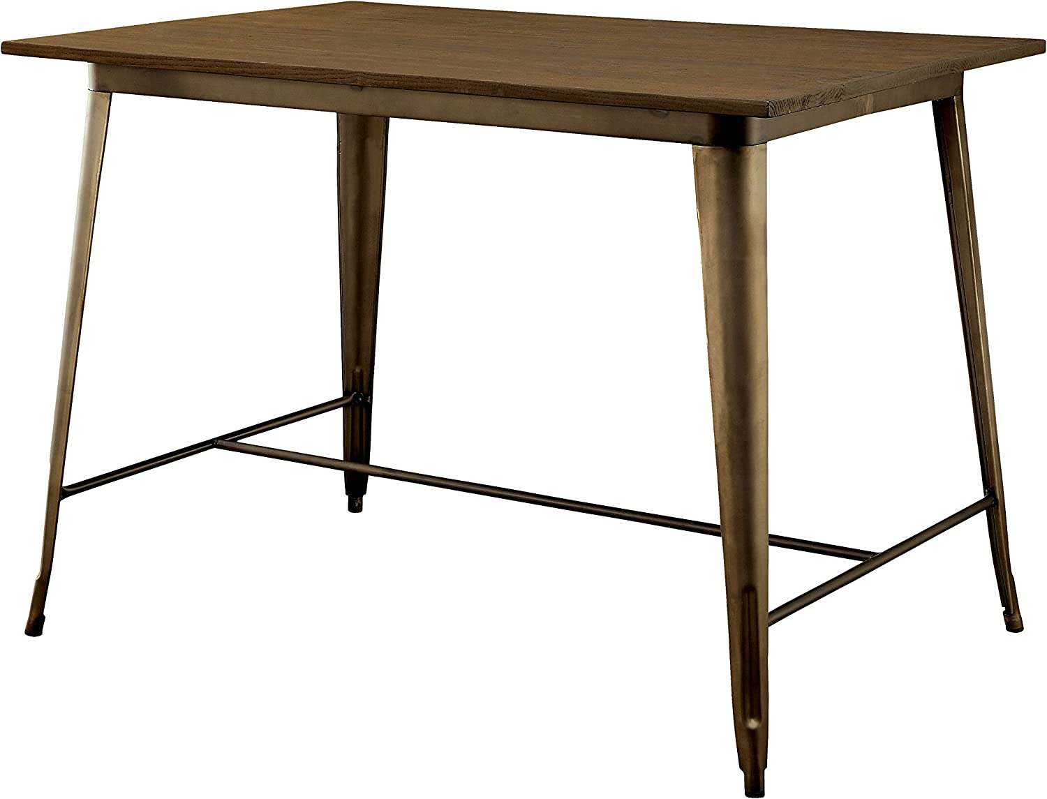 Furniture of America Cadiz Industrial Pub Table