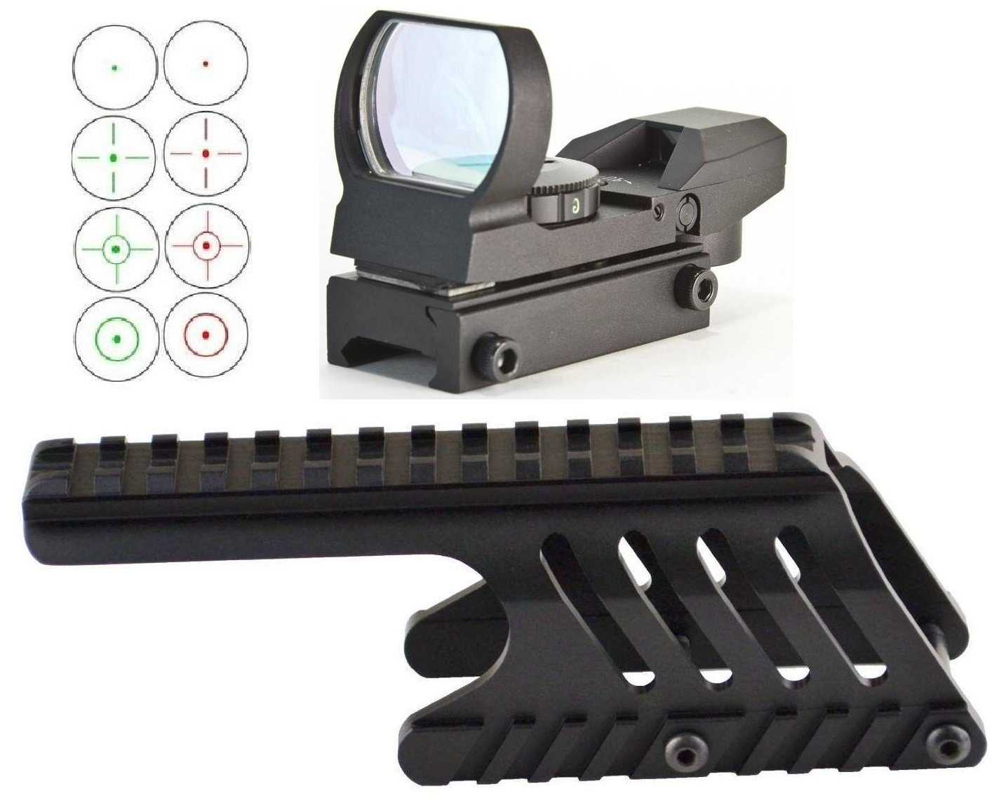 Ultimate Arms Gear Remington 870 12 Gauge Shotgun Fotos Wingmaster Parts List Wallpapers Compatible See Through Saddle Scope Sight Rail Mount Hard Anodized Machined Cqb 4 Reticle