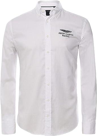 Hackett London Amr Left Chest Logo Camisa para Hombre: Amazon.es: Ropa y accesorios