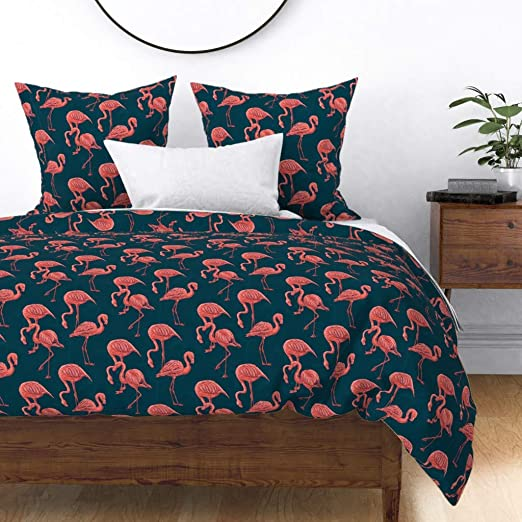 Drawing from/' 100/% Cotton Bedding Pillowcases Blue Bedspread Duvet Cover