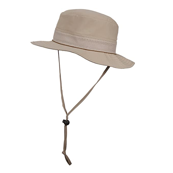 249b33d610b Stetson No FLY Zone Women Nylon Mesh Boonie Hat (Brown)  Amazon.ca ...