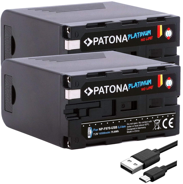 Patona® Platinum - Juego de 2 baterías de Repuesto para Sony ...