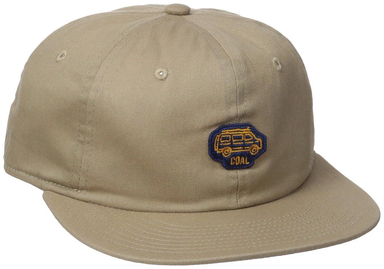 Coal Men's the Junior Structureless Hat Adjustable Snapback Cap, Khaki, One Size 225605