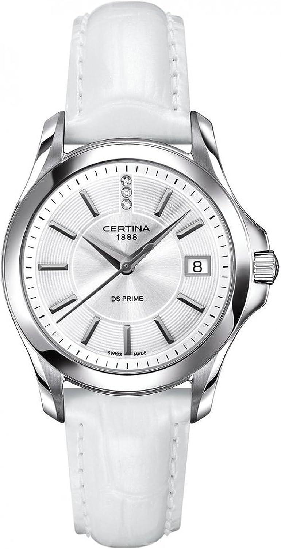 Certina C004.210.16.036.00 - Reloj de Pulsera Mujer, Piel