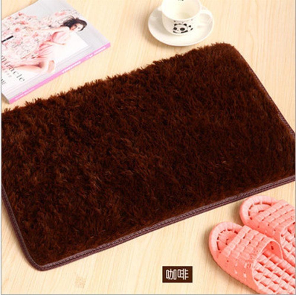A 4060cmWUTOLUO Pet Bolster Dog Bed Comfort Pet Bedding nonslip Carpet coffee Table Carpet (color   E, Size   40  60cm)