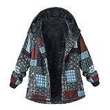 Faionny Women Padded Jacket Fleece Zipper