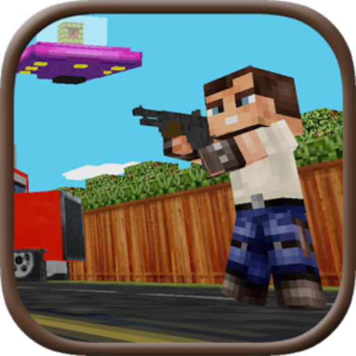 Block Gun 3D: Haunted Hollow -