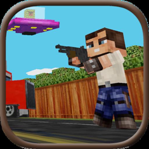 Block Gun 3D: Haunted