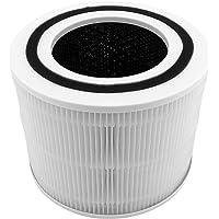 DingGreat Reservefilter voor Levoit luchtreiniger Core 300, 3-in-1 voorfilter, True HEPA-filter, zeer efficiënt…