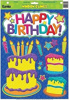 eureka color my world birthday window clings - Window Clings