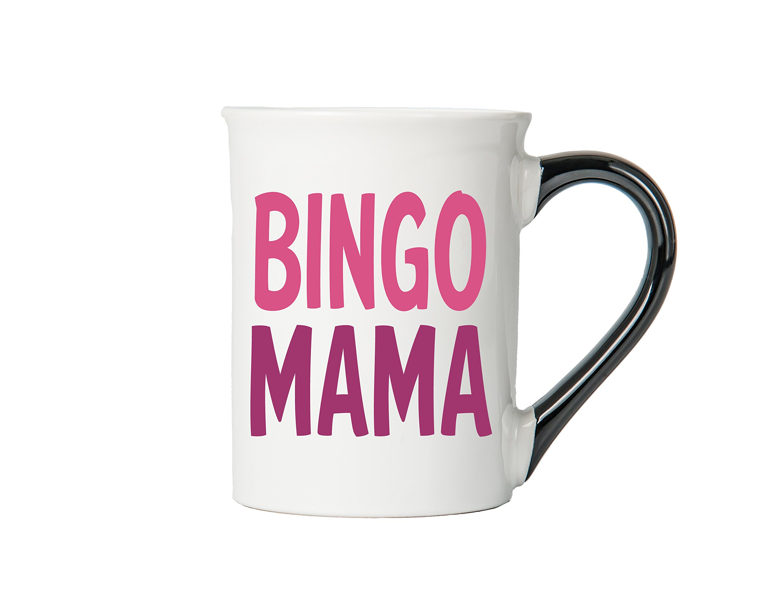 Bingo Mama Mug, Bingo Mama Coffee Cup, Ceramic Bingo Mama Mug, Custom Bingo Mama Gifts By Tumbleweed by Tumbleweed