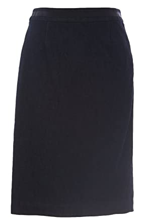 54772d9d0 BODEN Women's Denim Modern Pencil Skirt Dark Indigo at Amazon Women's  Clothing store: