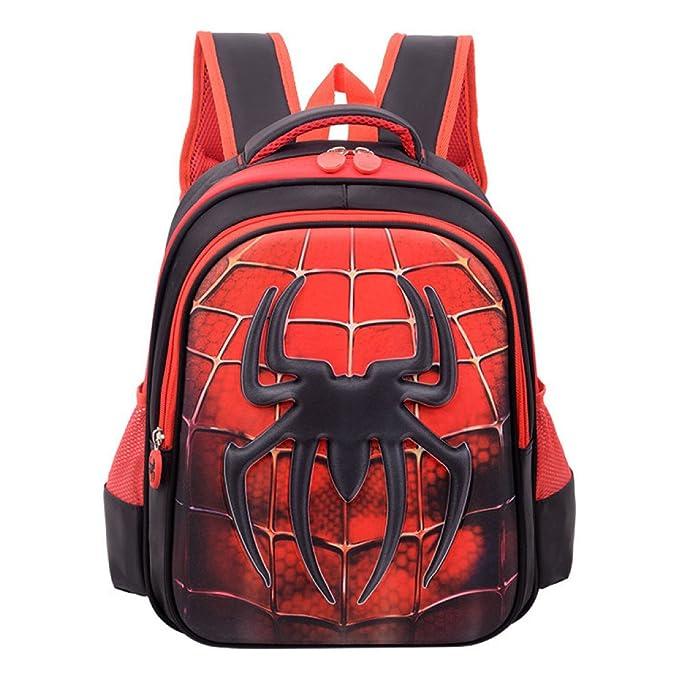 Leggero borsa per bambini spiderman cartone animato zaino con
