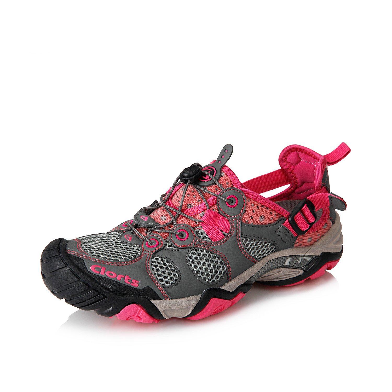 Slloop Clorts Women's Seaside Amphibious Athletic Pull On Water Shoe Quick Drying Hiking Water Sneaker