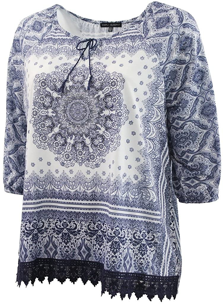46f370aca6fa1c Dreamer P Women's Plus Size Casual Fashion T Shirt Top Clothing (0X-3X) at  Amazon Women's Clothing store: