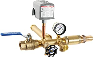"""Plumb eeze Pressure Tank Installation Kit with 1"""" Brass Union Tank tee to fit Most Pressure Tanks with diameters up to 16"""""""